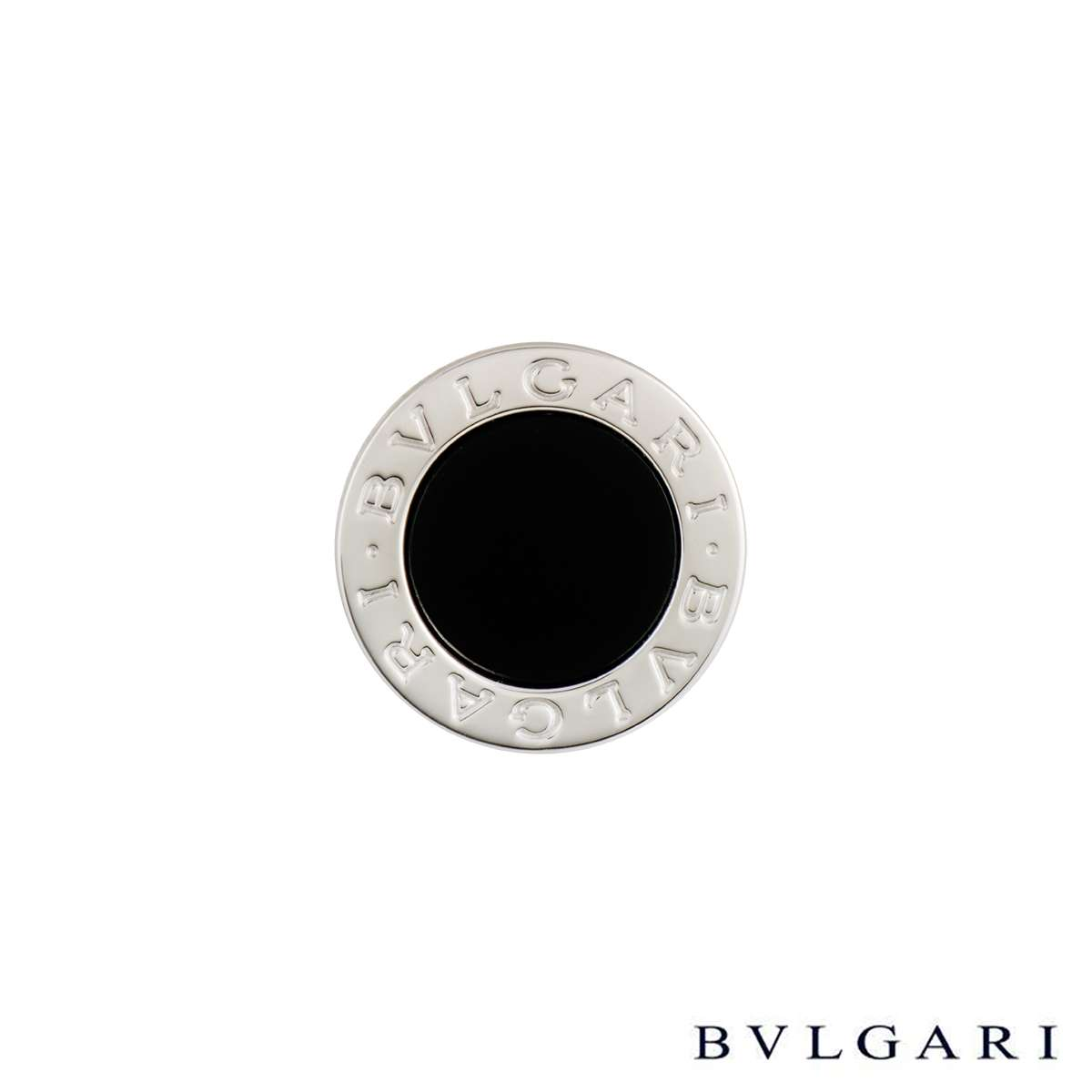 Bvlgari Bvlgari White Gold & Onyx Ring